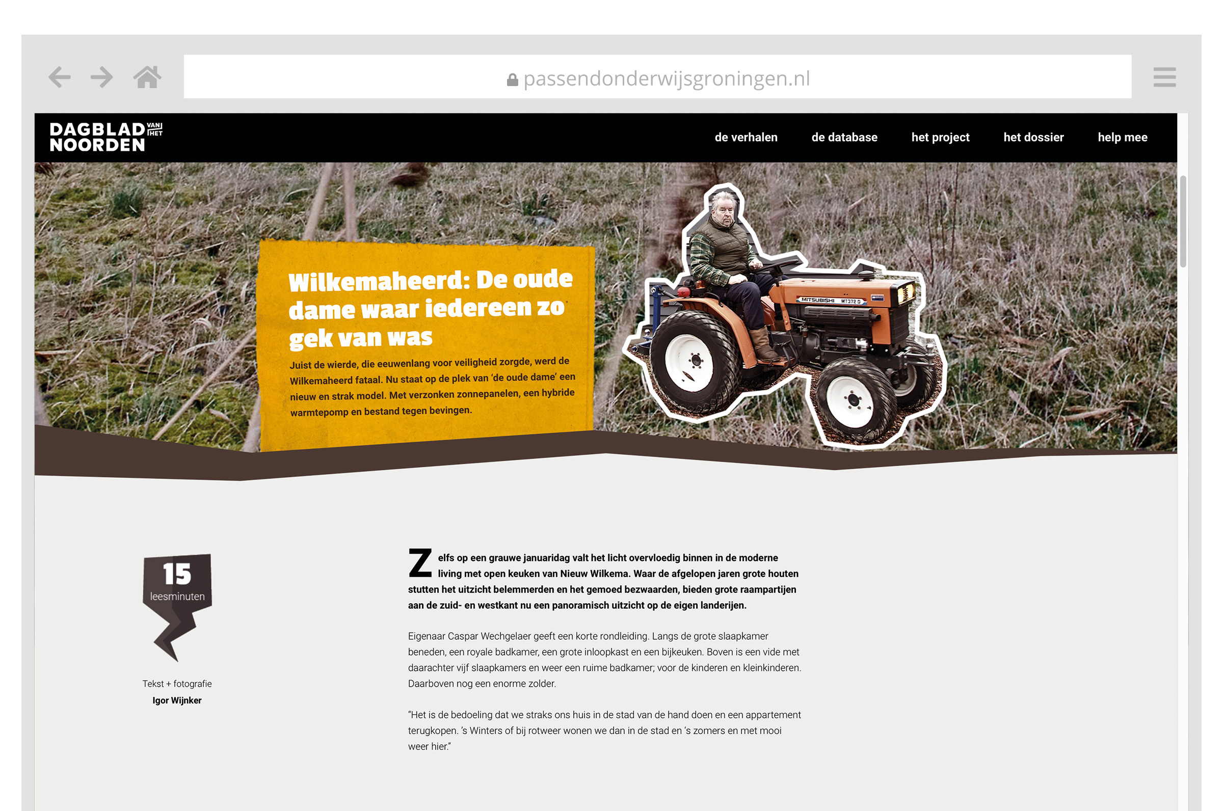Het Verdwenen Groningen website